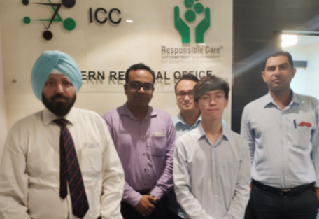 OKCHEM visited ICC in India.png